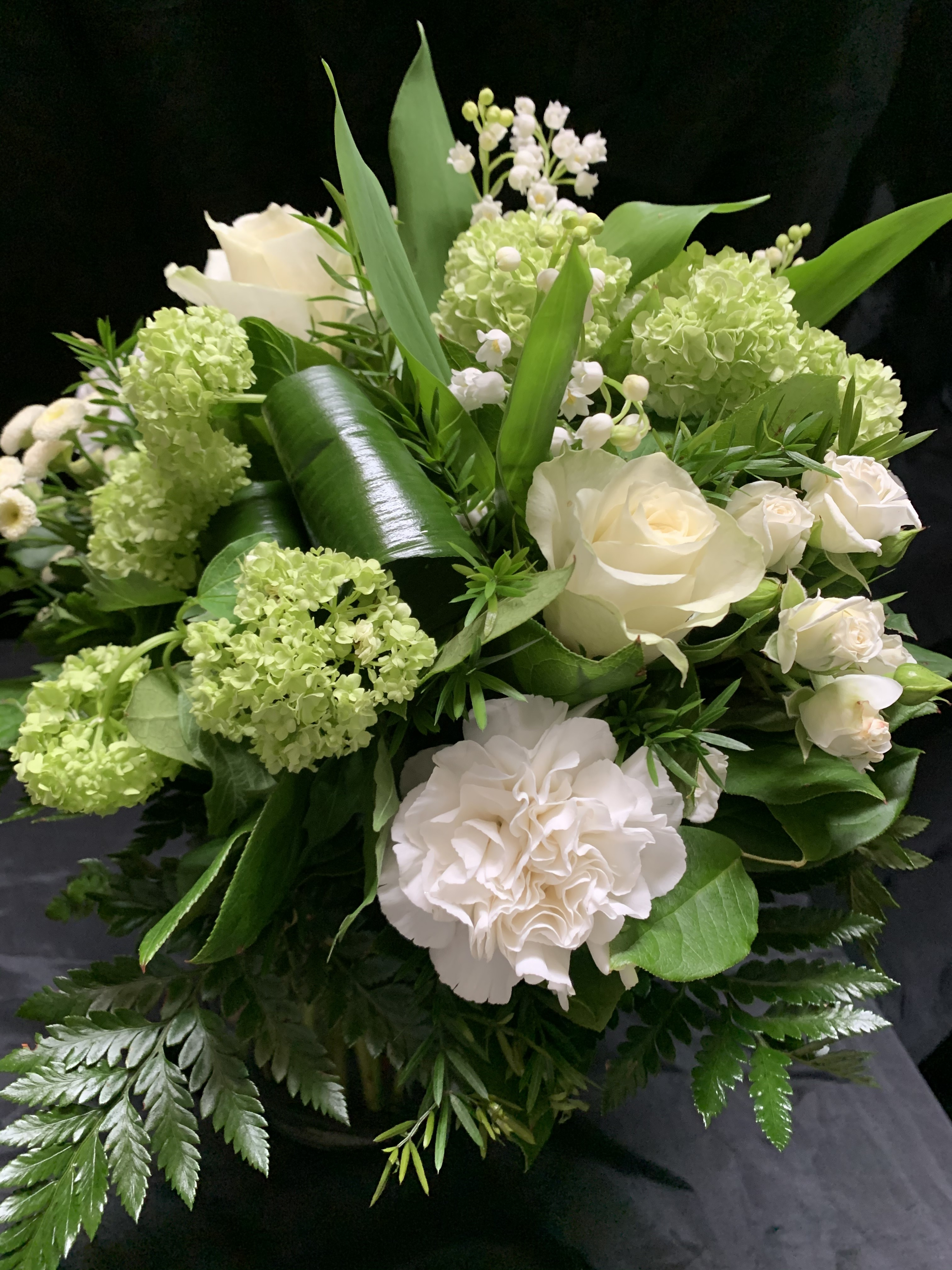 Bouquet Rond muguet 35€